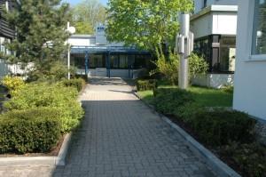Blick zum Eingang, Dipl. Ing. Heino Gamradt