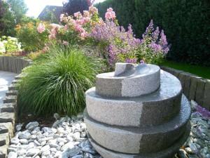 Garten in Scharbeutz, Wasserspiel, Dipl. Ing. Heino Gamradt