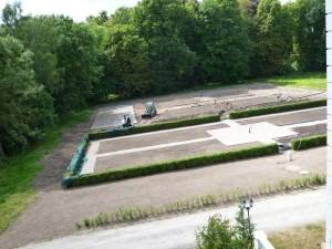 Küchengarten in der Bauphase, Dipl. Ing. Heino Gamradt