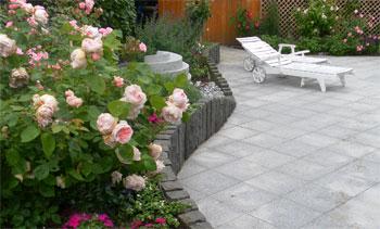 Pflegeleicht und Blütenreich, Hausgarten in Scharbeutz, Planung