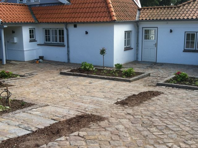 Landhaus und Garten am Kellersee, Malente, Planung und Ausführung Heino Gamradt