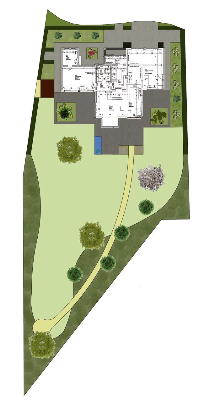 Entwurf Hausgarten Admannshagen