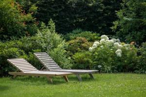 Landhausgarten im englischen Stil